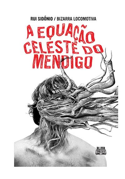 """Rui Sidónio """"A Celeste Equação do Mendigo"""" Capa"""