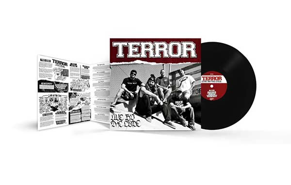 "Terror ""Live By The Code"" LP Black"